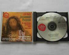 GUTTENBERG / BACH Johannes St John passion GERMANY 2CD RCA RD 60903 (1992) NM