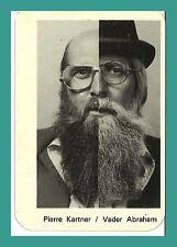 Pierre Kartner, vader Abraham | chanteur | original-AUTOGRAPHE sur calendrier annuel