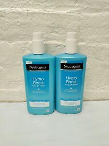 (2) Neutrogena Hydro Boost Body Gel Cream Normal to Dry & Sensitive to Dry Skin