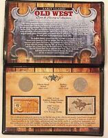 Early Classic Old West Coin & Stamp Collection