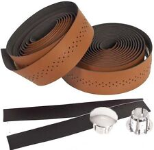 Genetic Handlebar Tape Leather Brown Microfiber Soft Touch