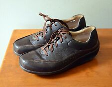 Aravon Laney by New Balance Women's 7D Brown Leather Oxford Walking Toning Shoes