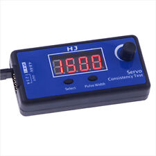 RC Digital Servo Tester ESC Consistency Tester for RC Helicopter Airplane Car Sc