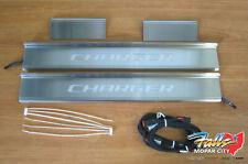 2015-2020 Dodge Charger Light Up Chrome Door Seal Guard New MOPAR OEM