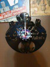 Fall out 4 record wall clock
