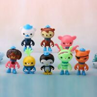Set Of 8 Pcs Octonauts Figure Creature Peso Barnacles  Shellington Kids Toy Gift
