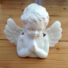 Mozzafiato!!! cherub angel Bruciatore Olio In Ceramica Aromaterapia Fragance reiki terapia
