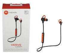 Motorola Verveloop Water Resistant Bluetooth Wireless Stereo Headphones W Mic
