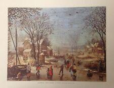Winter Landscape By Joan Breugel