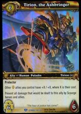 Tirion, The Ashbringer Icecrown Citadel Treasure Foil Rare World of Warcraft WoW
