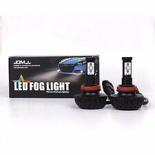 JDM ASTAR 2x 4400lm H16 H11 CREE Super Bright 6000K White LED Fog DRL Light Bulb