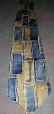 100 % Silk Geometric Classic (57 in.-60 in.)  Necktie by Arrow
