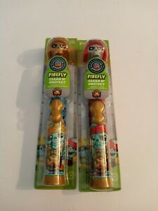 TwoFirefly Clean N' Protect Treasure X Power Toothbrushes With Cover