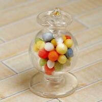 12th Scale Dollhouse Glass Bowl Miniature Glassware 1:12 Dollhouse and Miniature
