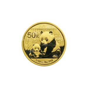1/10 oz 2012 Chinese Panda Gold Coin