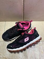 Skechers Skech-Air Memory Foam Running Athletic Shoes Woman's Size 8 Black Pink