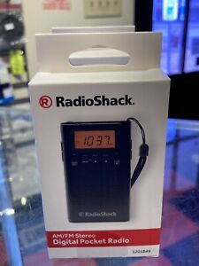 Radioshack Digital Pocket Radio: AM/FM/STEREO