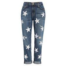 Current Elliott Fling BOYFRIEND Jeans Size 26 Loved W/ Stars Relaxed