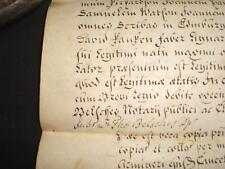1768 documentos en papel de vitela Latina, Edimburgo, Escocia, un grado