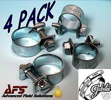 4 x 9mm - 11mm Jubilee Mini Hose Clips Clamps Nut & Bolt Air Fuel Pipe Water AFS