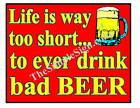 Custom Decor Bar Beer Sign, Pub, Restaurant, Lounge #35