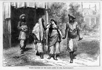 WHITE SLAVERY IN THE EAST, GOING TO THE SLAVE-MARKET
