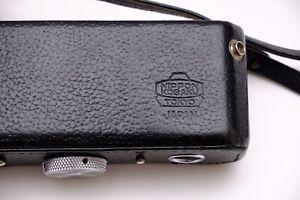 Early Nikon F Nippon Kogaku Leather Half Case And Strap. Ever Ready Case