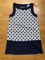Gymboree Parisian Afternoon Girls Size 4 Navy Sailor Shorts Top Shirt NEW NWT