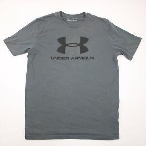 Under Armour Heat Gear Men's Gray T-Shirt Size Medium Loose Fit