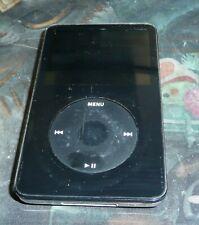 Apple iPod Classic 5th Generation A1136 30GB EMC 2065 Black LINES ON SCREEN