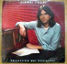 TOGNI GIANNI BOLLETTINO DEI NAVIGANTI E' LA VITA IO E TE LP 1982 SEALED