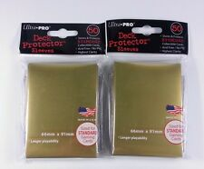 100 goldfarbene Ultra Pro Sleeves -  New Standard Gold - Farbe: Gold
