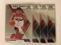 2019-20 Panini Mosaic NBA Debut RUI HACHIMURA #275 Lot,4 | Rookie Card | Wizards