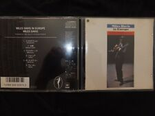 CD MILES DAVIS / IN EUROPE / JAPAN PRESSAGE / RARE /