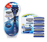 Schick Hydro 5 Premium (NEW IMPROVED) Shaver +  refill Cartridges Razor Blades