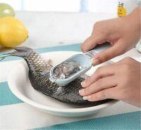 Practical Fish Scale Remover Cleaner Scaler Scraper Kitchen Peeler Tool 2020