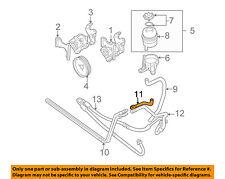 BMW OEM 01-06 X5-Power Steering Return Hose 32416767136