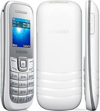 Samsung E1205 Mobile Phone (Unlocked)Sim Free Basic phone White
