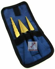 New Step Bit Set TITANIUM UNI Bit Reamer Drill Bit Set Astro Pneumatic