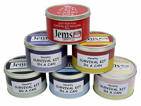 BIRTHDAY SURVIVAL KIT IN A CAN 18th, 21st, 30th, 40th, 50th, Mum/Dad/Friend Gift