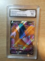 CHARIZARD V GMA GEM MINT 10 2020 Pokémon Sword & Shield Champions Path
