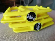 NS Bikes, Lemon Yellow Nylon Flat Pedals (BMX, Downhill, Commute..)