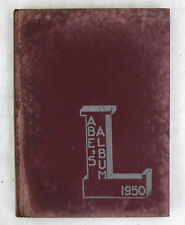 1950 Yearbook Lincoln Junior High School Rockford Illinois The Abe's Album