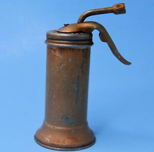 """VTG EAGLE OIL CAN OILER TRIGGER PUMP Made in USA 6"""" tall"""