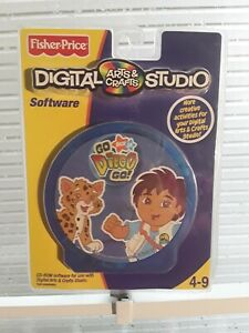 Fisher-Price Digital Arts and Crafts Studio-Go Diego Go Software NEW
