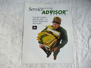 1999 John Deere dealer service advisor brochure