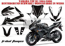 AMR Racing DECORO GRAPHIC KIT YAMAHA YZF r1, XT 1200 TENERE Z/ZE TRIBAL Flames B