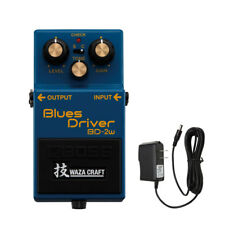 Boss BD-2W Blues Driver w/PigHog PigPower 9V 1000ma Power Supply New