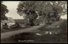 West Moors near Ferndown. Church Road.