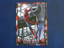 2017 UD Spider-Man Homecoming Civil War Images CW1 WALMART EXCLUSIVES